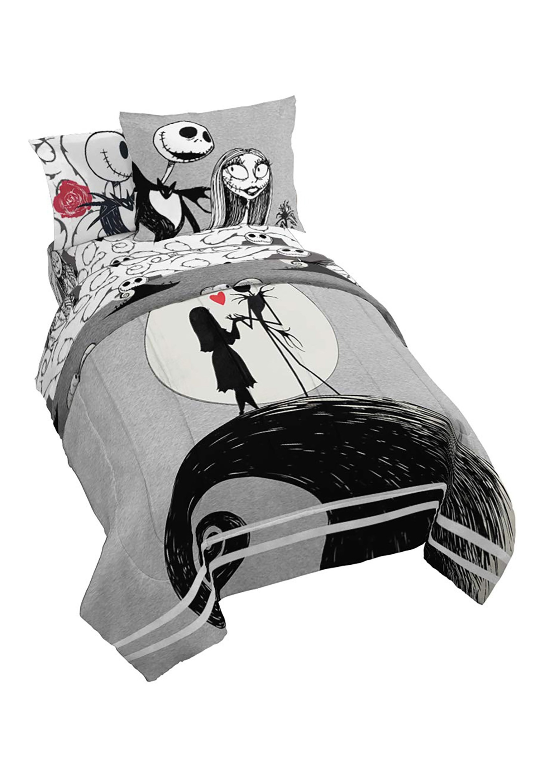 Nightmare Before Christmas Moonlight Full-Size Bed In A Bag
