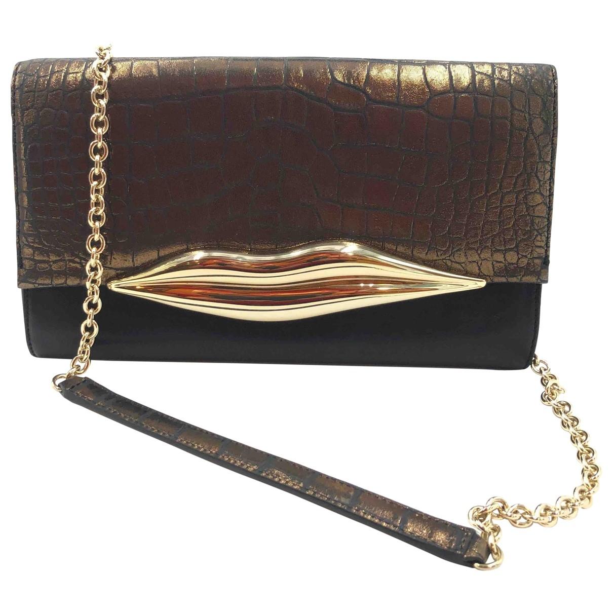 Diane Von Furstenberg \N Leather handbag for Women \N