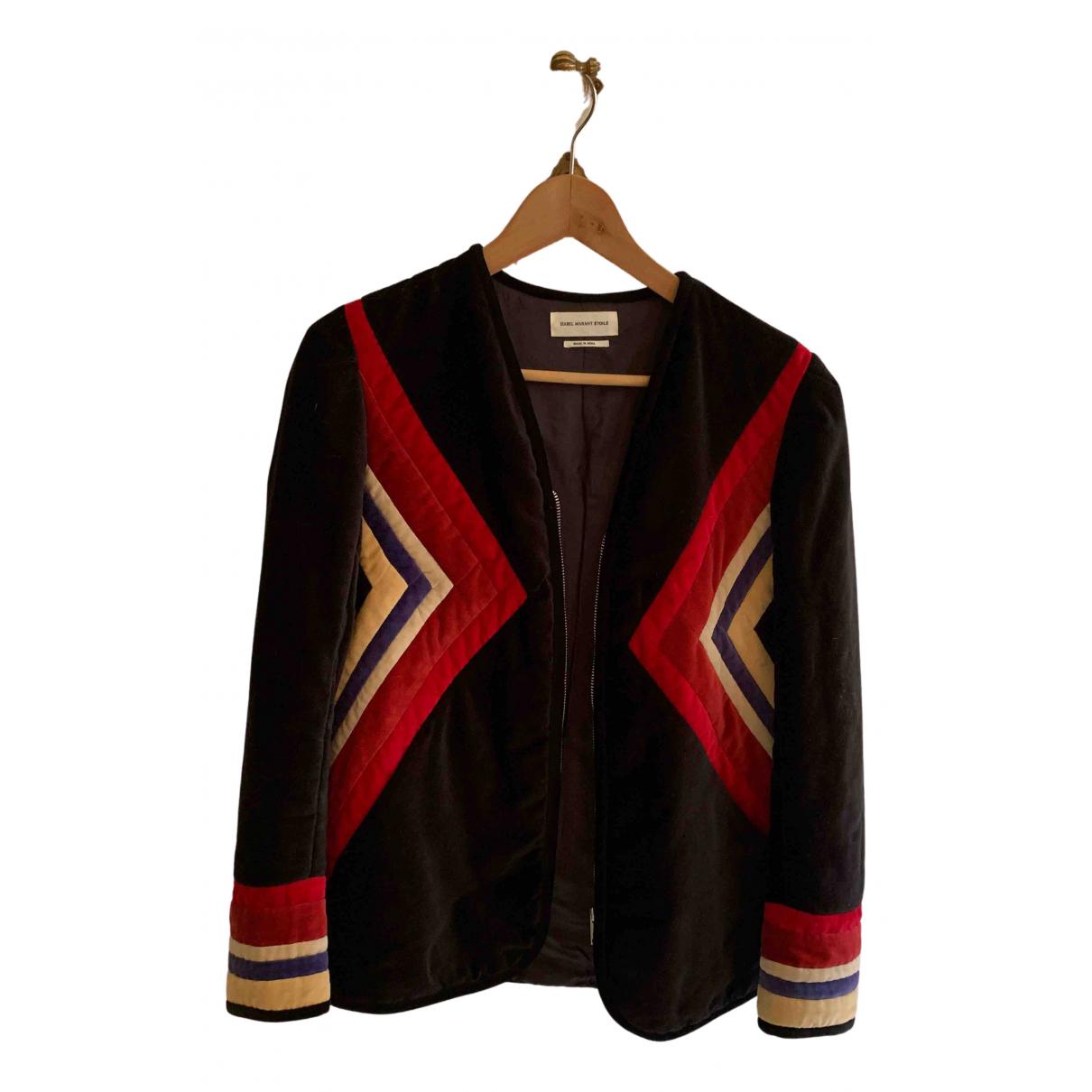 Isabel Marant Etoile N Multicolour Velvet jacket for Women 34 FR