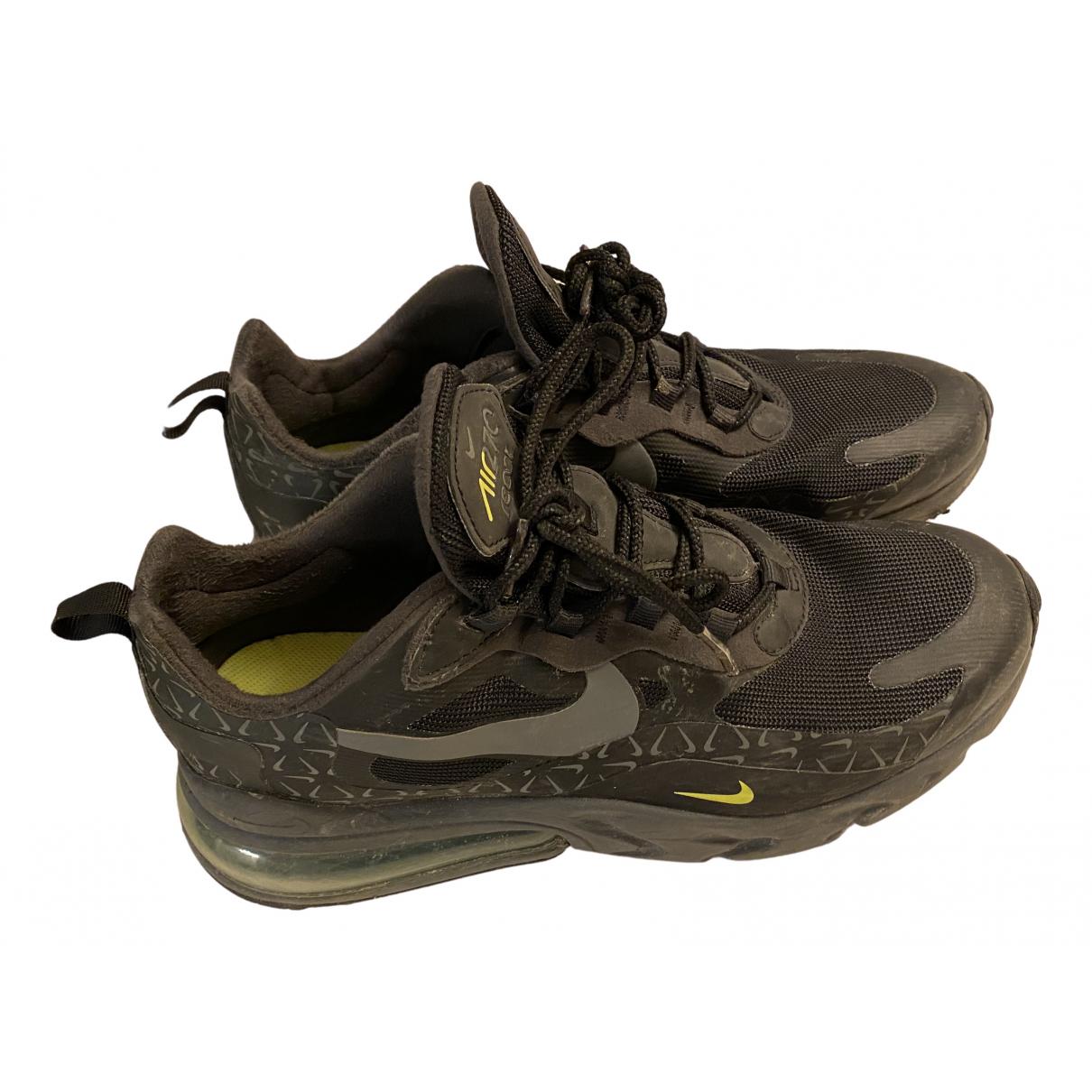 Nike Air Max 270  Black Cloth Trainers for Men 41 EU