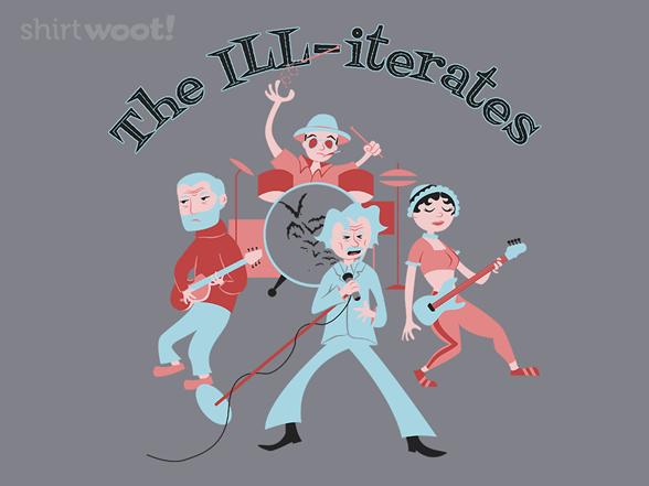 The Ill-iterates T Shirt