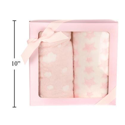 Tootsie Baby Ensemble de couverture pour 2 PC, 100x75cm, rose
