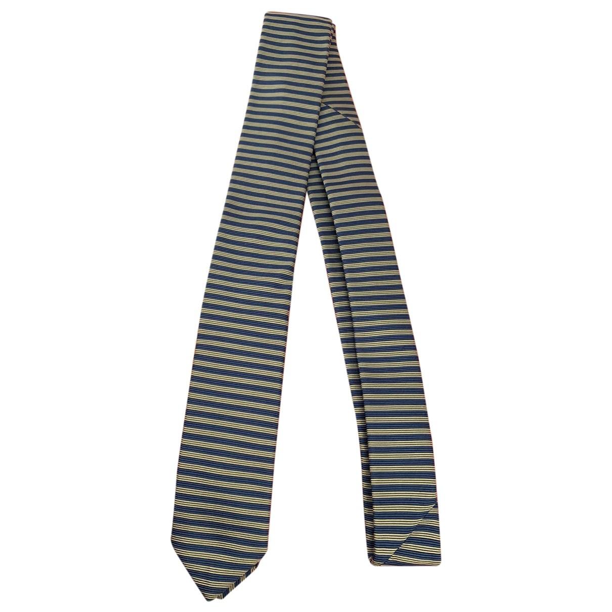 Prada \N Krawatten in  Blau Seide