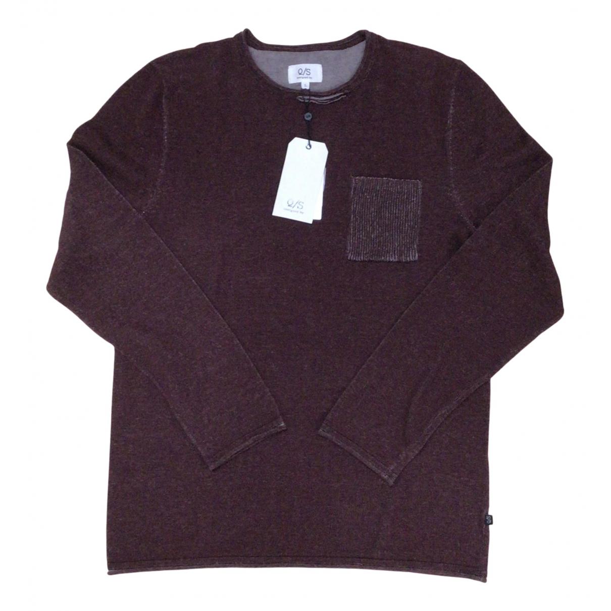 S Oliver \N Pullover.Westen.Sweatshirts  in  Bordeauxrot Baumwolle
