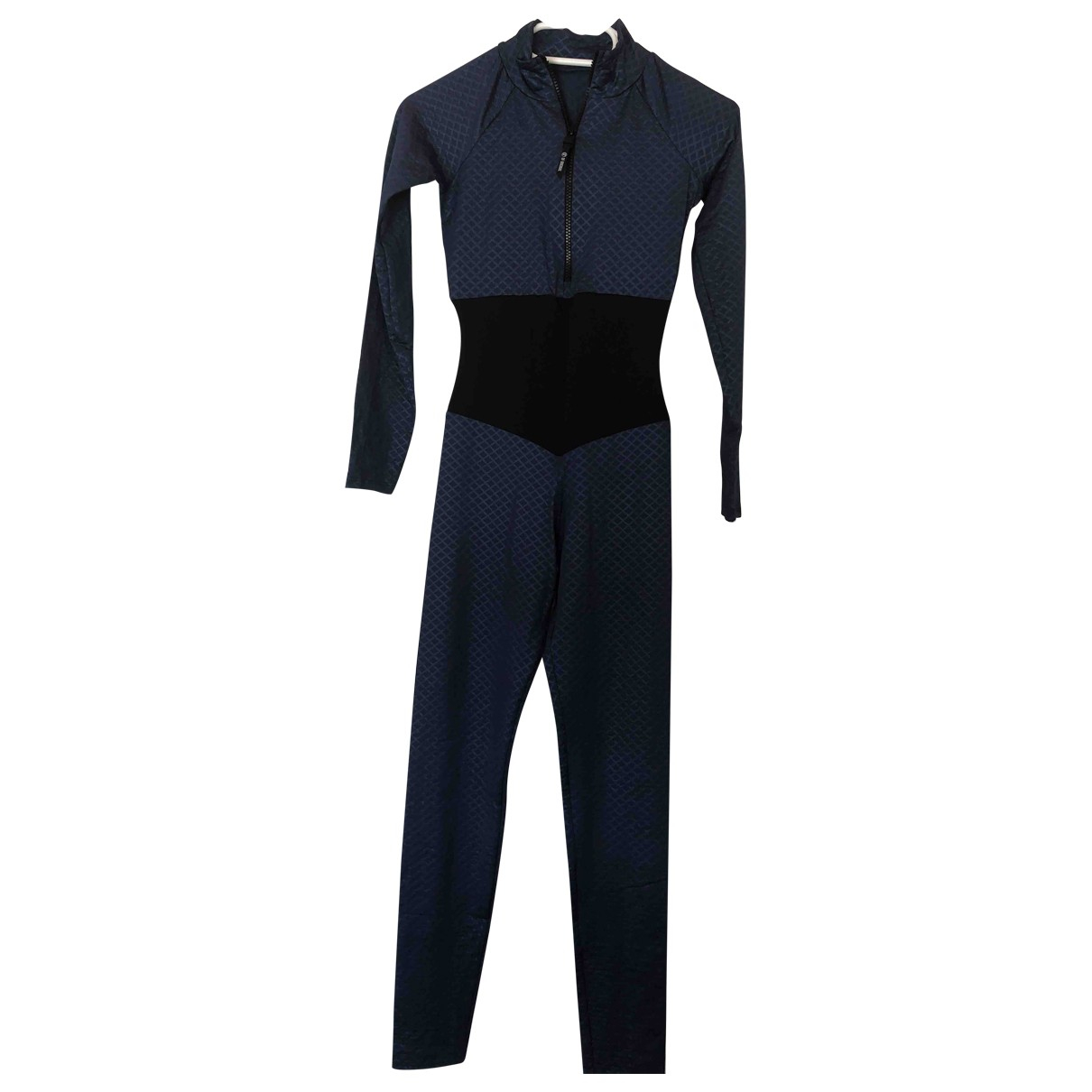 Non Signé / Unsigned \N Blue jumpsuit for Women M International