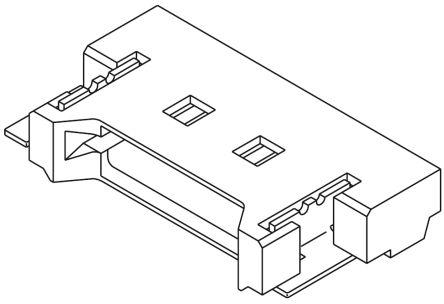 Molex , PanelMate, 53780, 6 Way, 1 Row, Right Angle PCB Header (5)
