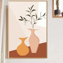Vase Print Wall Painting Without Frame