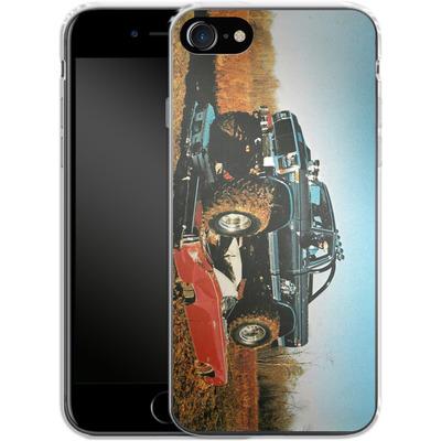 Apple iPhone 8 Silikon Handyhuelle - Bigfoot Seventies von Bigfoot 4x4
