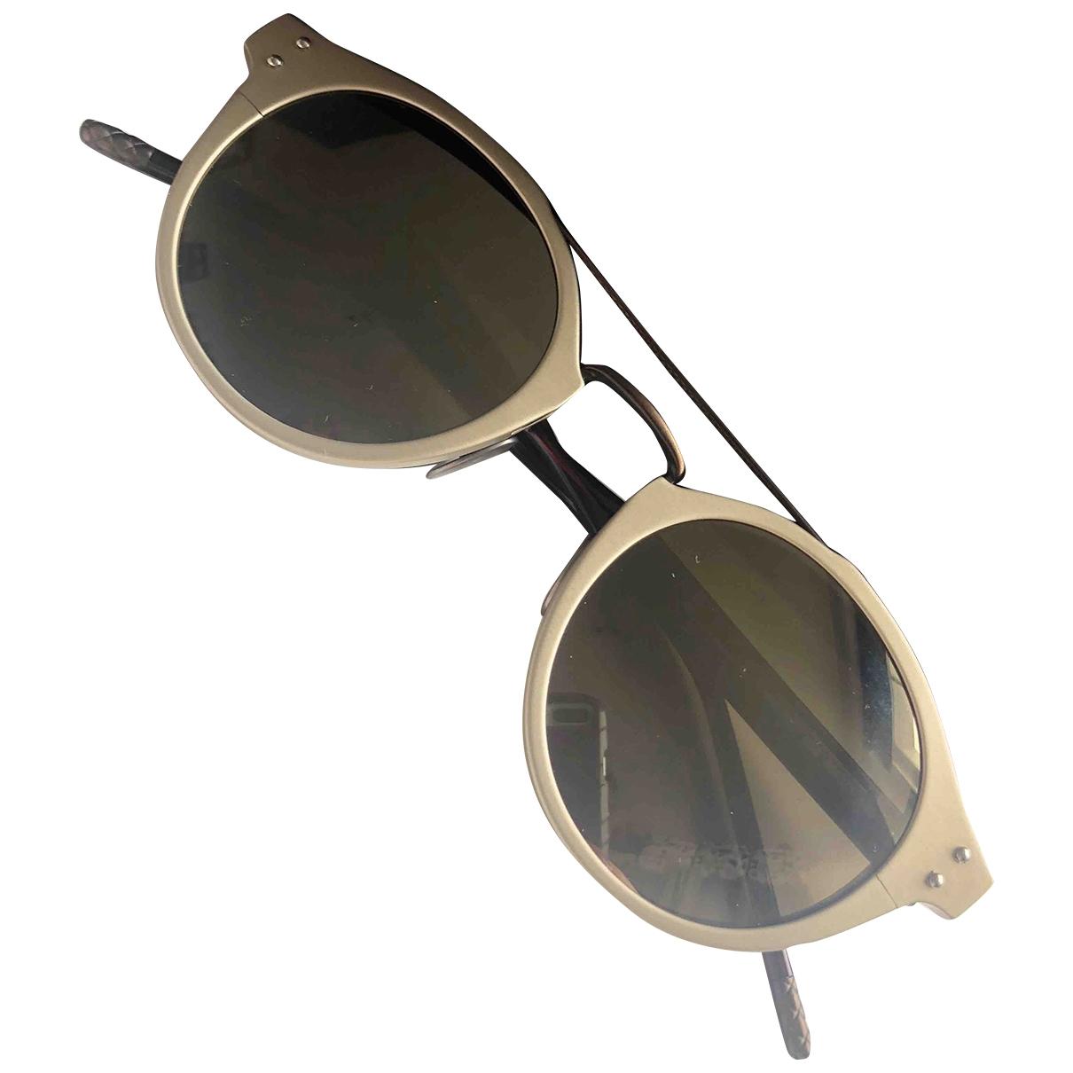 Bottega Veneta \N Sonnenbrillen in  Weiss Kunststoff