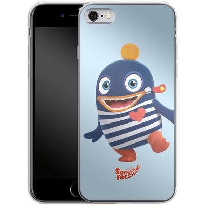 Apple iPhone 6s Silikon Handyhuelle - Sorgenfresser Ping von Sorgenfresser