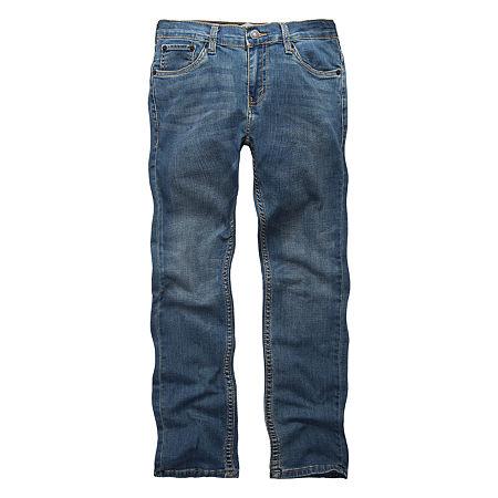 Levi's Performance Big Boys 511 Stretch Slim Fit Jean, 12 , Blue