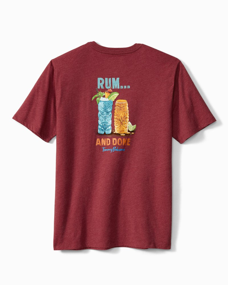 Big & Tall Rum And Done T-Shirt