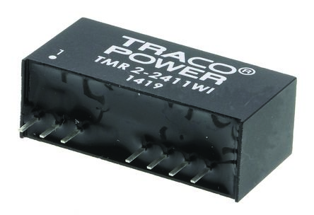 TRACOPOWER TMR 2WI 2W Isolated DC-DC Converter Through Hole, Voltage in 9 → 36 V dc, Voltage out 5V dc