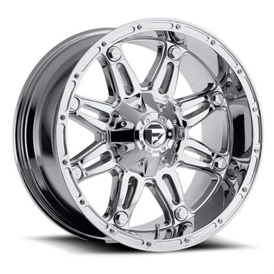 MHT Fuel Offroad Wheels Hostage D530, 20x9 Wheel with 5 on 5 Bolt Pattern - Chrome - D53020905745
