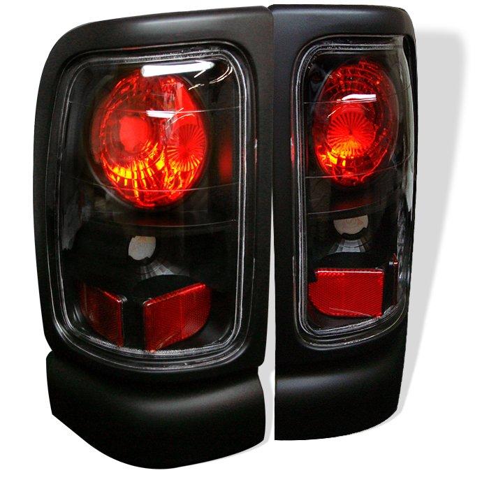 Spyder Altezza Black Tail Lights Dodge Ram 1500 2500 3500 94-01