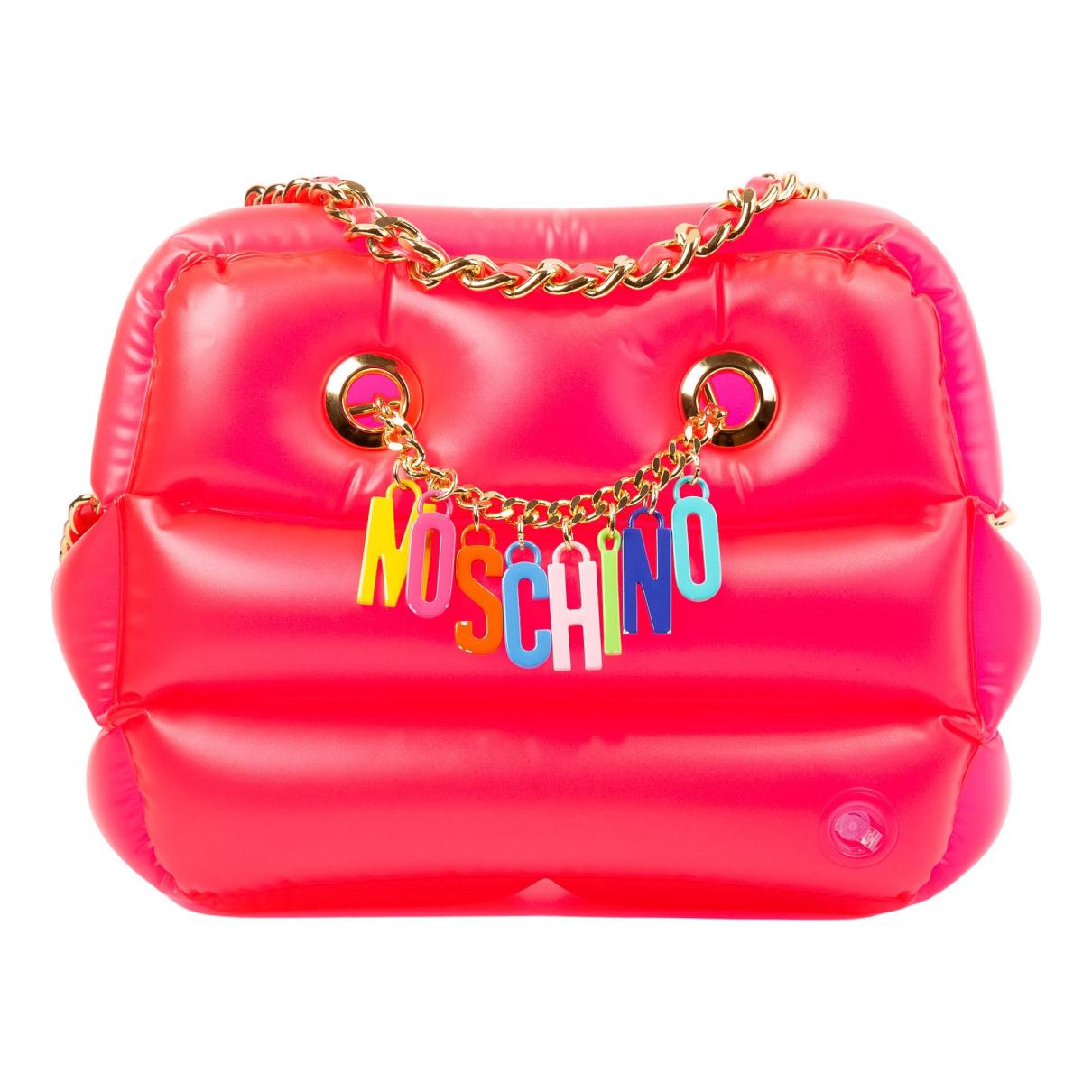 Moschino \N Pink Cloth handbag for Women \N