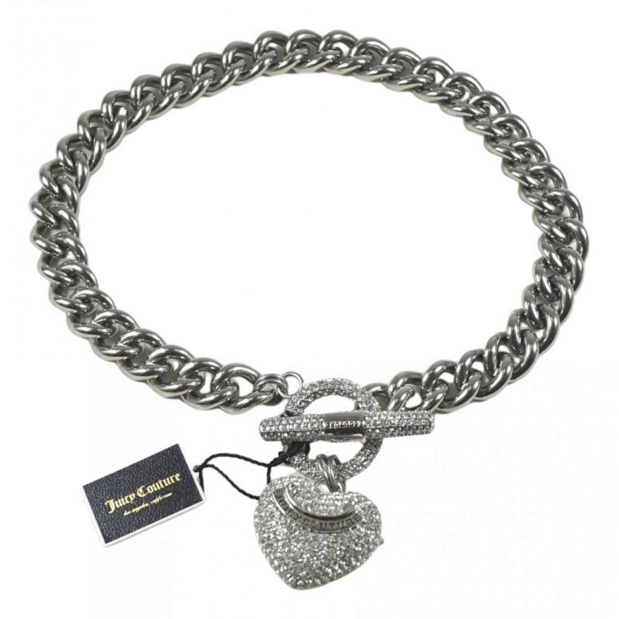 Juicy Couture \N Silver Metal necklace for Women \N