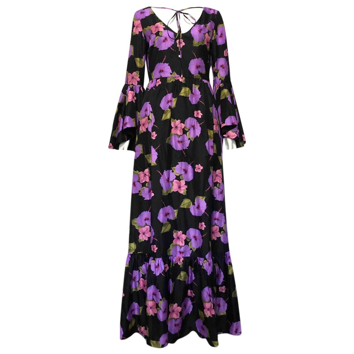 Borgo De Nor - Robe   pour femme en soie - violet