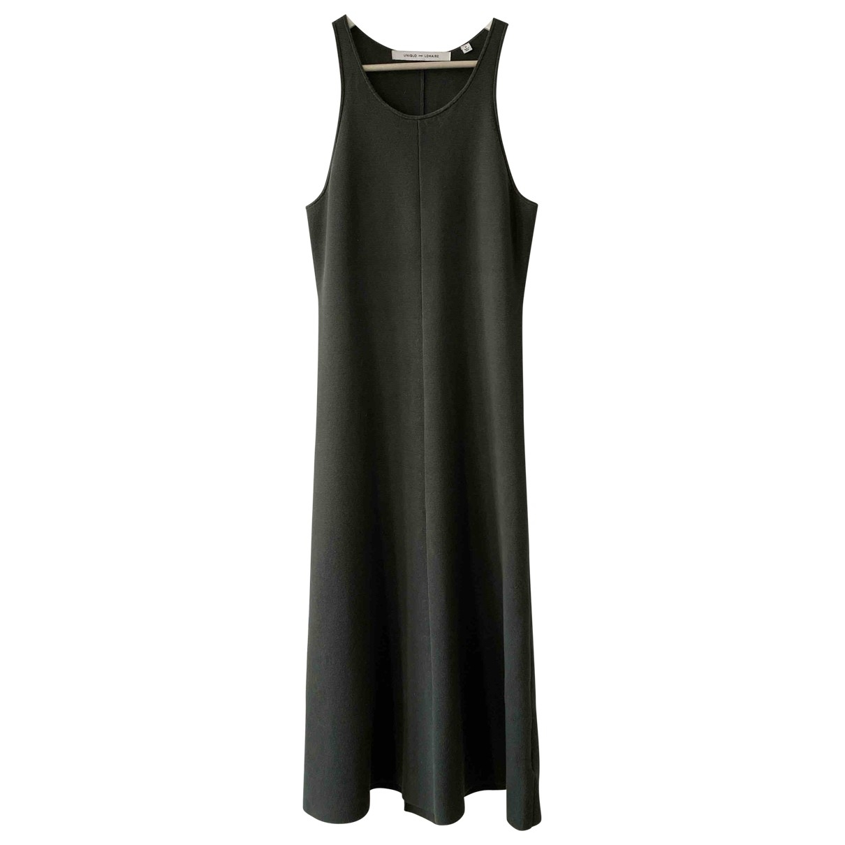 Lemaire X Uniqlo \N Kleid in  Khaki Polyester