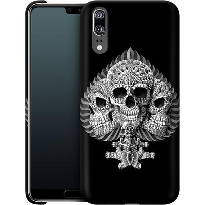 Huawei P20 Smartphone Huelle - Skull Spade von BIOWORKZ