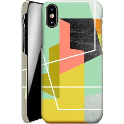 Apple iPhone X Smartphone Huelle - Color Block II von Susana Paz