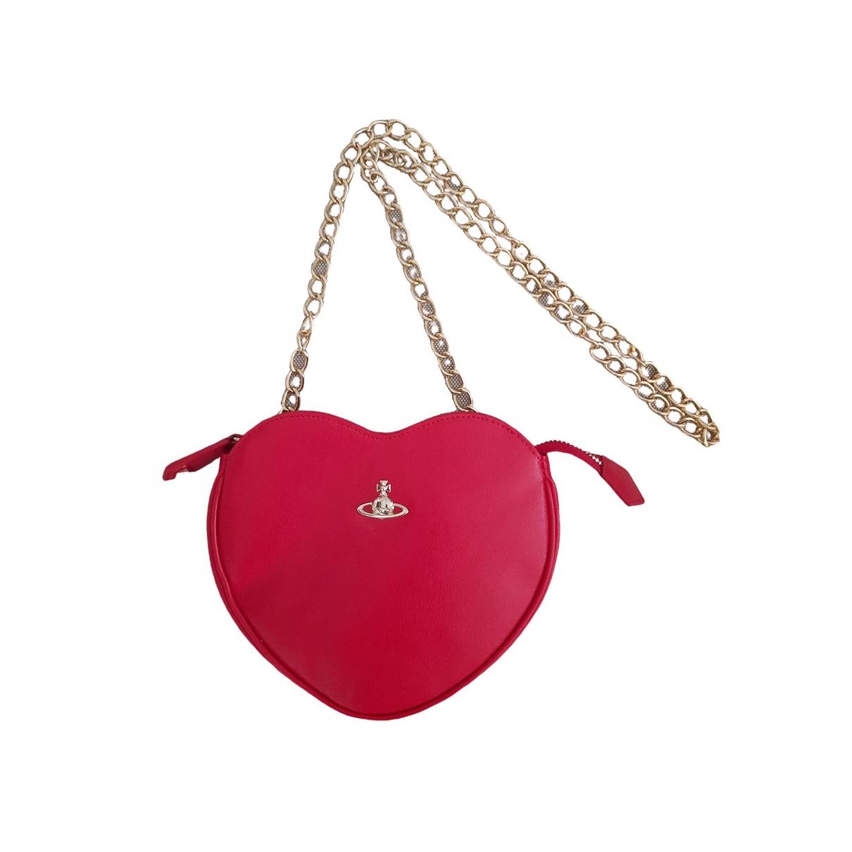 Vivienne Westwood \N Red Leather Clutch bag for Women \N