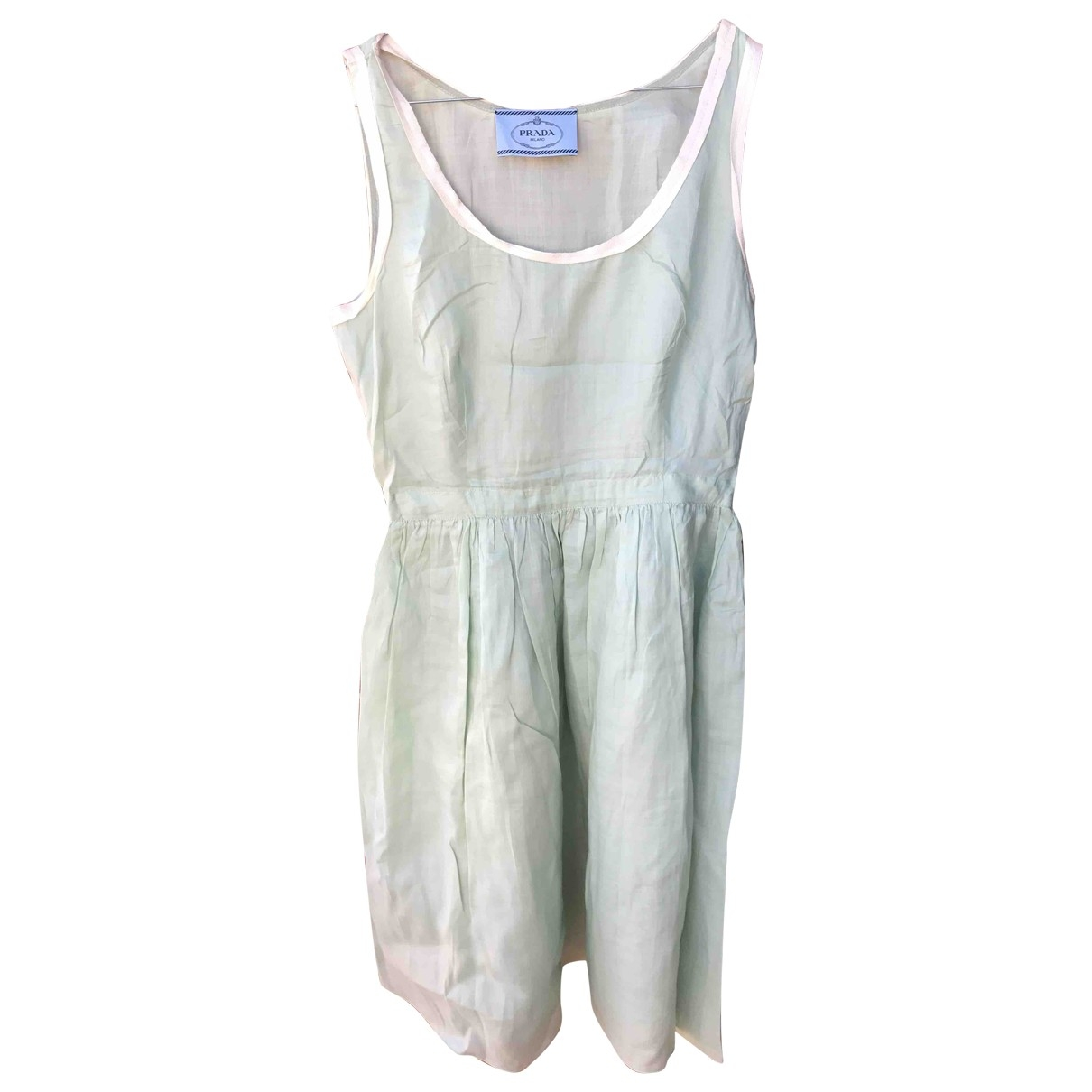 Prada \N Linen dress for Women 44 IT