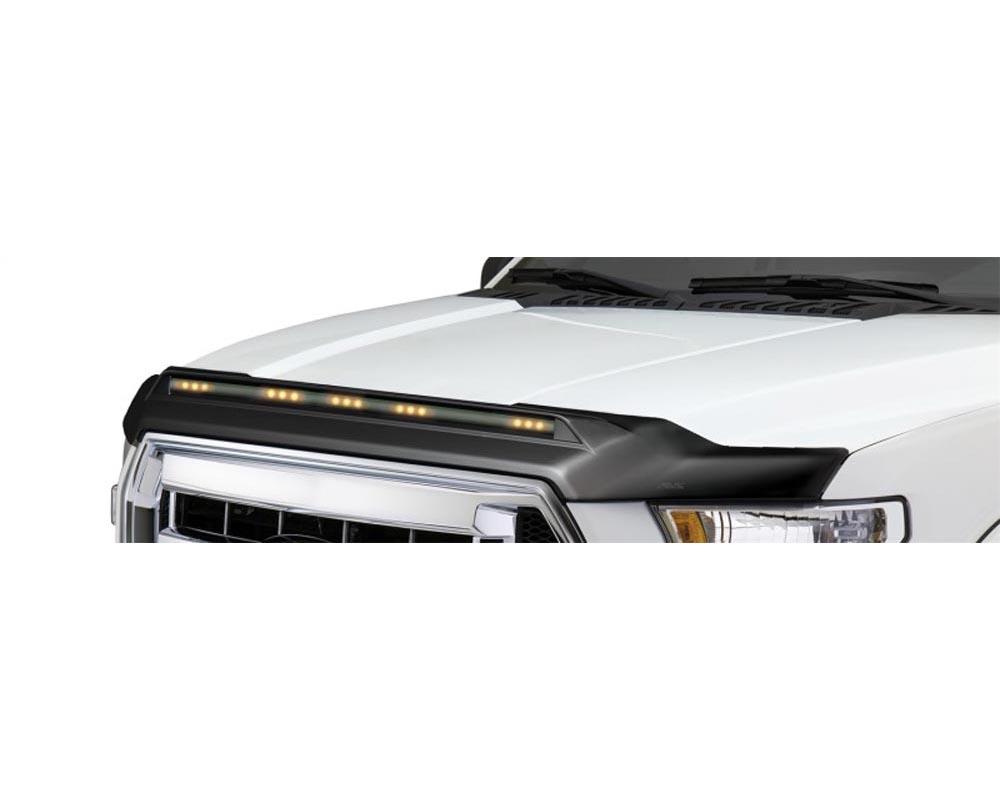 AVS 753166 Aeroskin Low Profile Light Shield - Black Ford Ranger 2019-2021