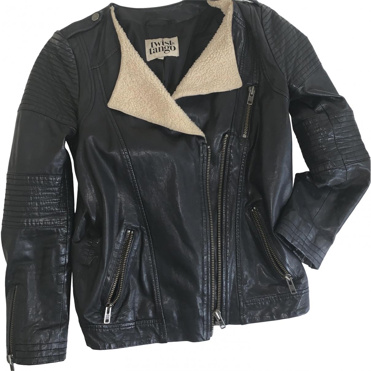 Twist & Tango \N Brown Leather jacket for Women 8 UK