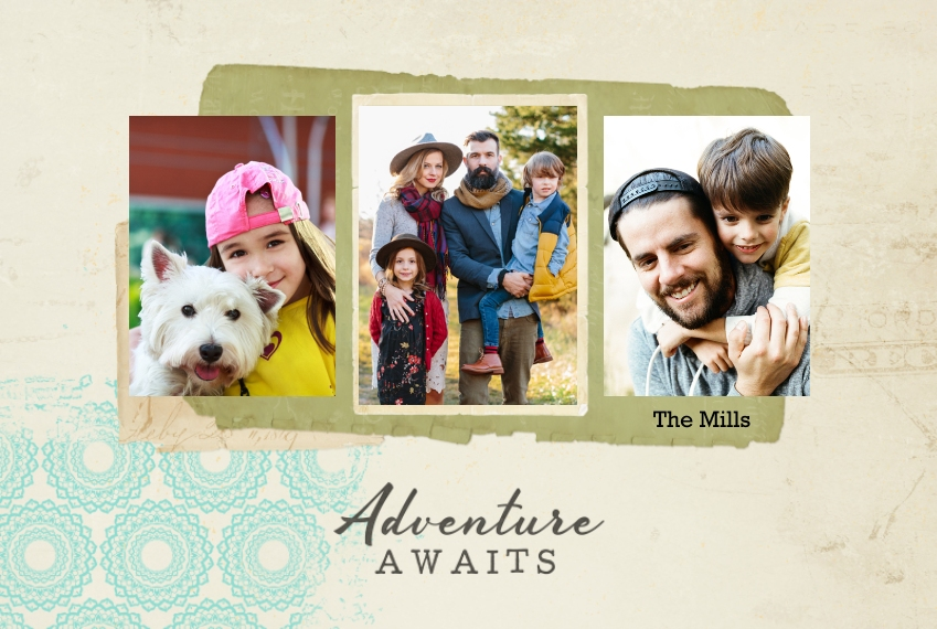 Placemat Placemat, Gift -Adventure Awaits