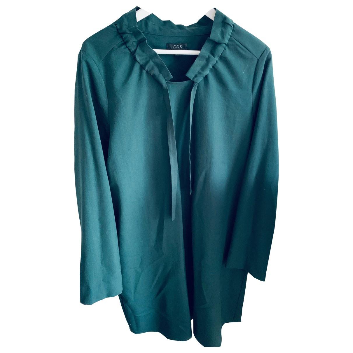 Cos \N Kleid in  Gruen Wolle