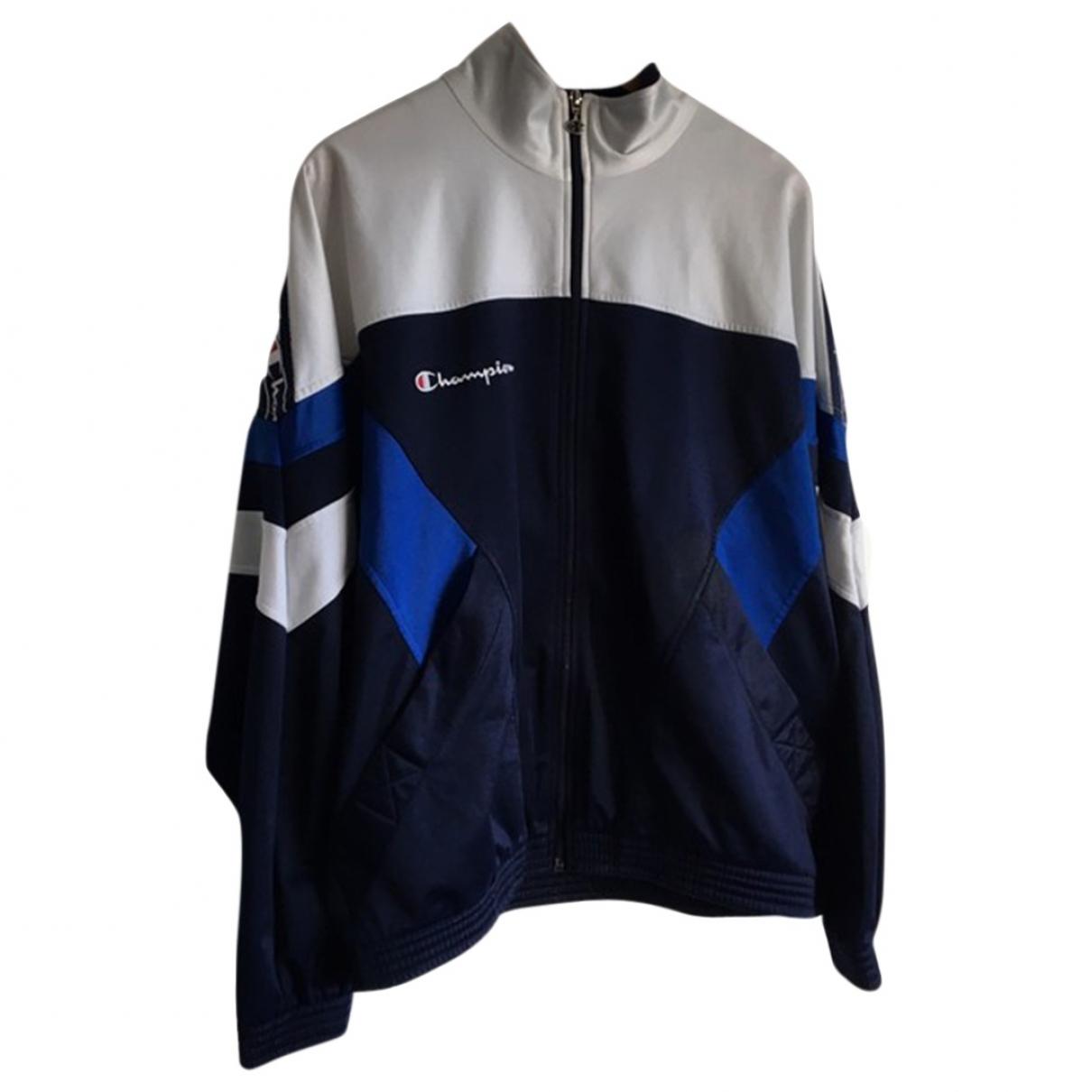 Champion \N Blue jacket  for Men M International