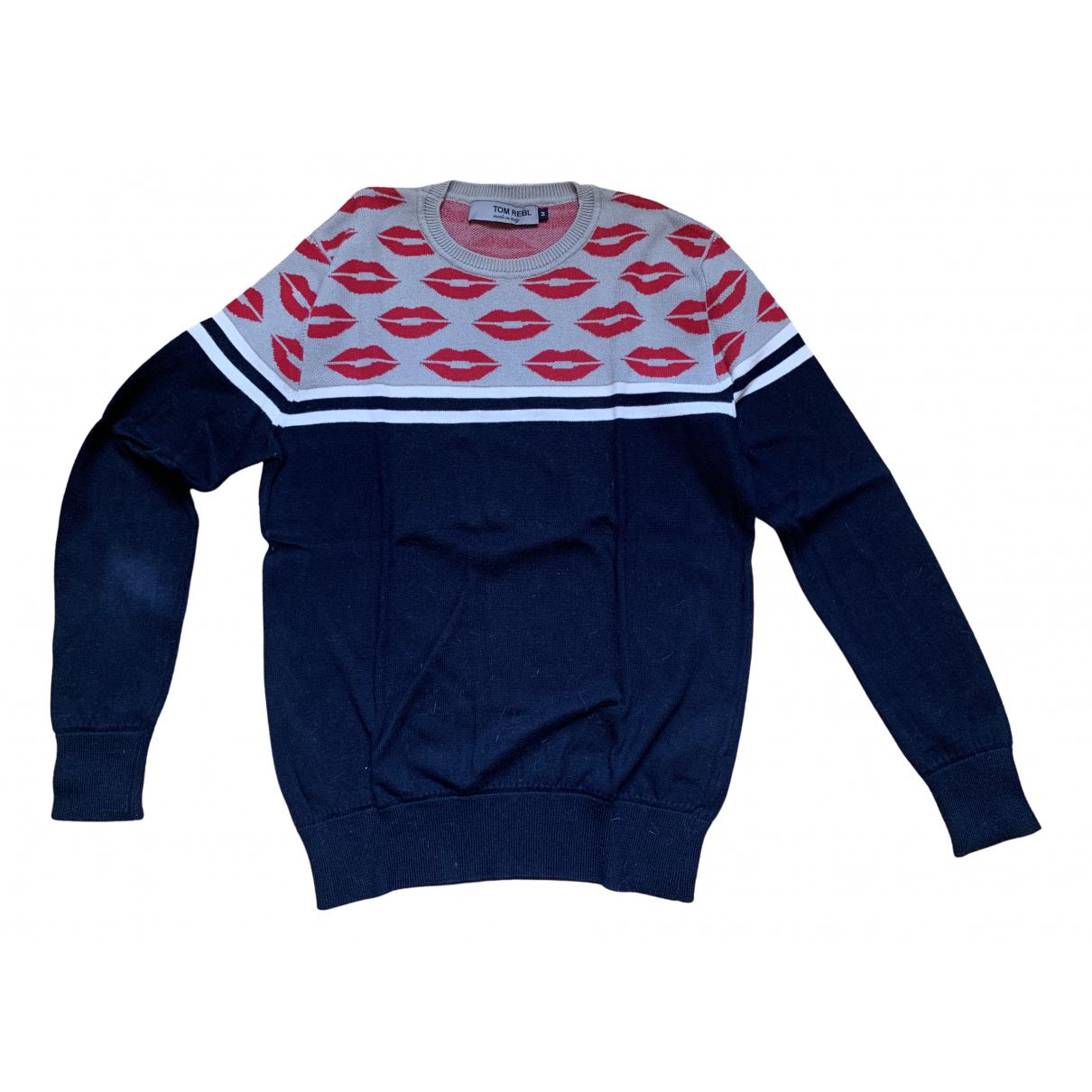 Tom Rebl \N Pullover.Westen.Sweatshirts  in  Schwarz Baumwolle
