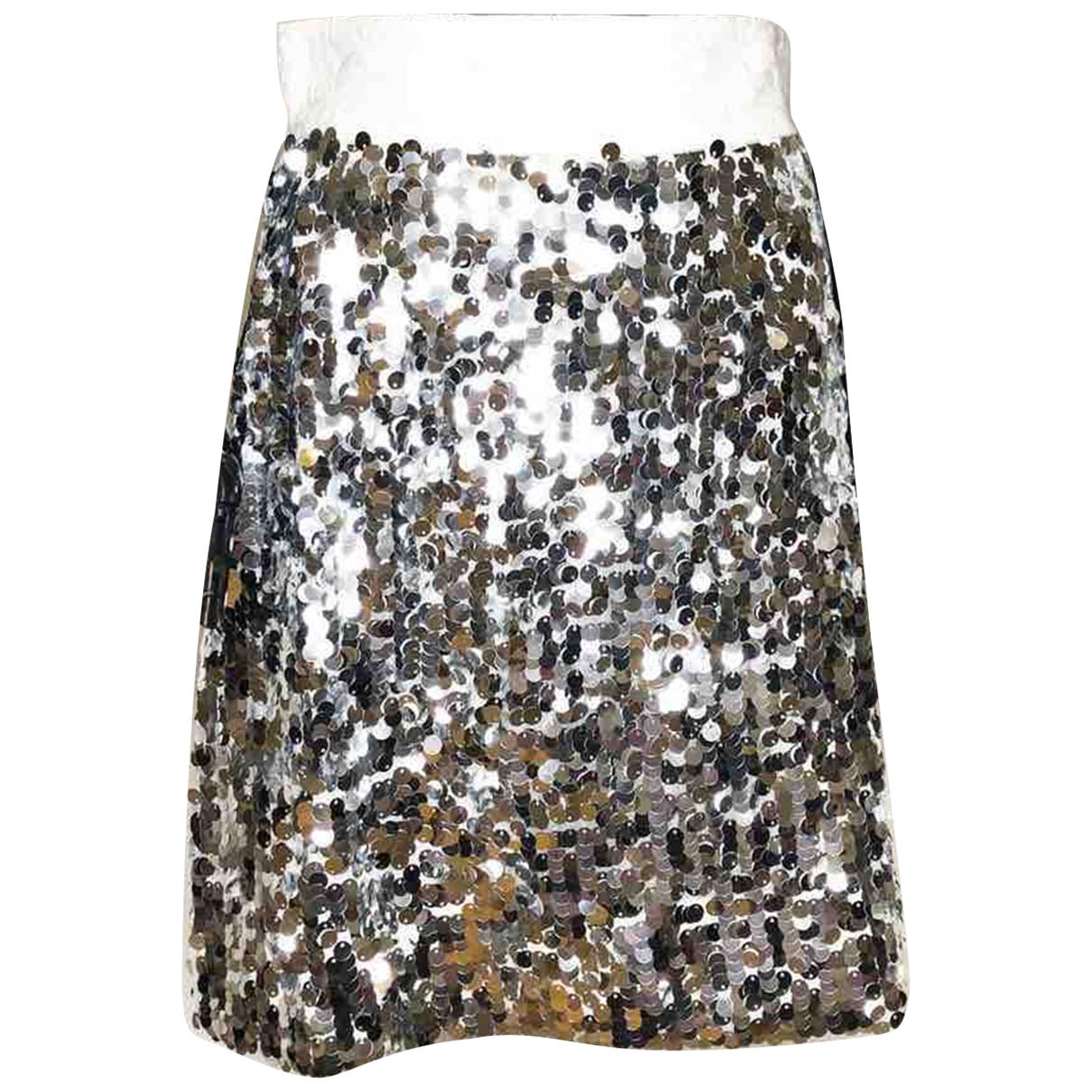 Dolce & Gabbana \N Rocke in  Silber Polyester