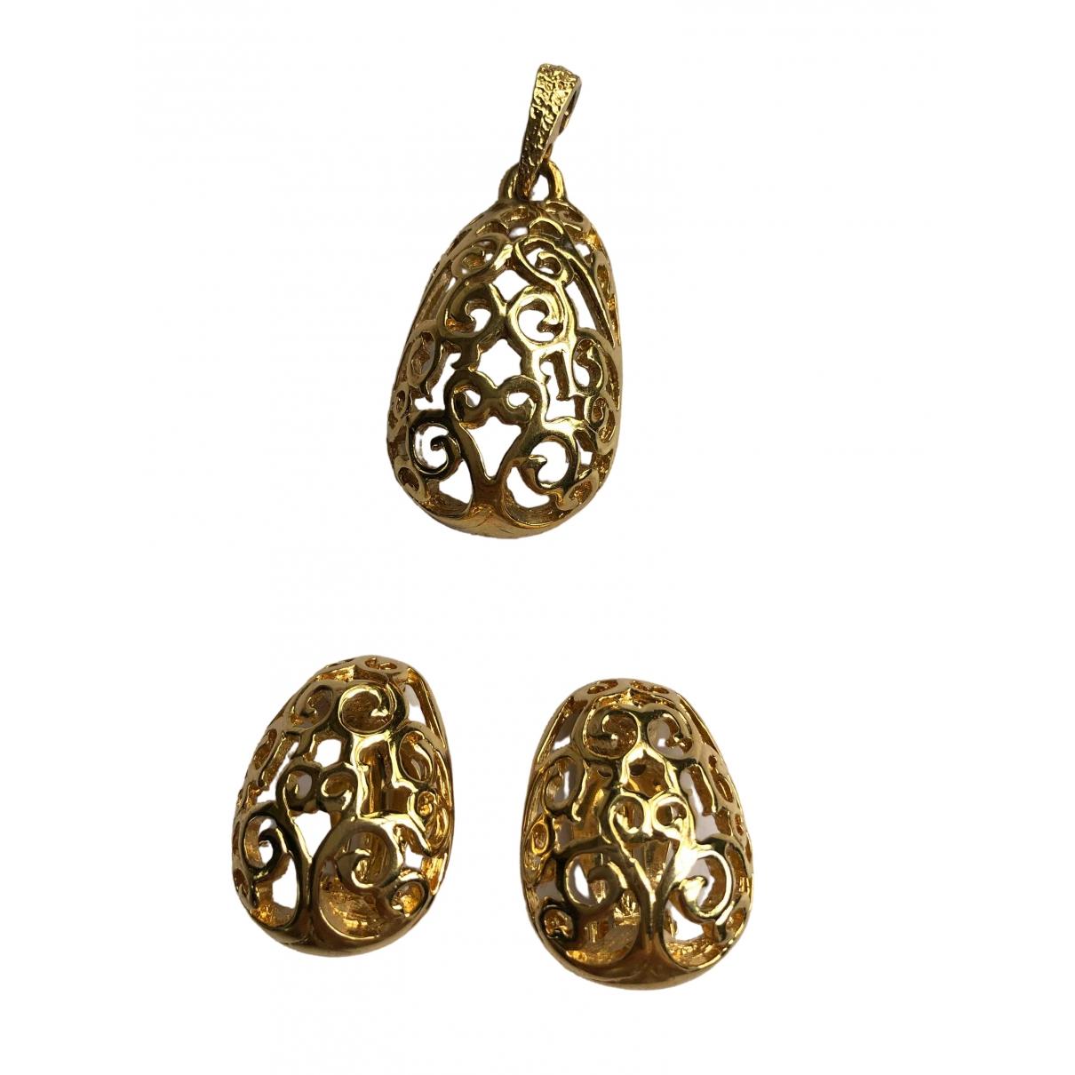 Yves Saint Laurent \N Gold Metal Jewellery set for Women \N