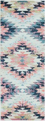 Anika Collection ANI1027-2773 Runner 2 7 x 7 3 Rug  Machine Made with Polypropylene Material in Neutral