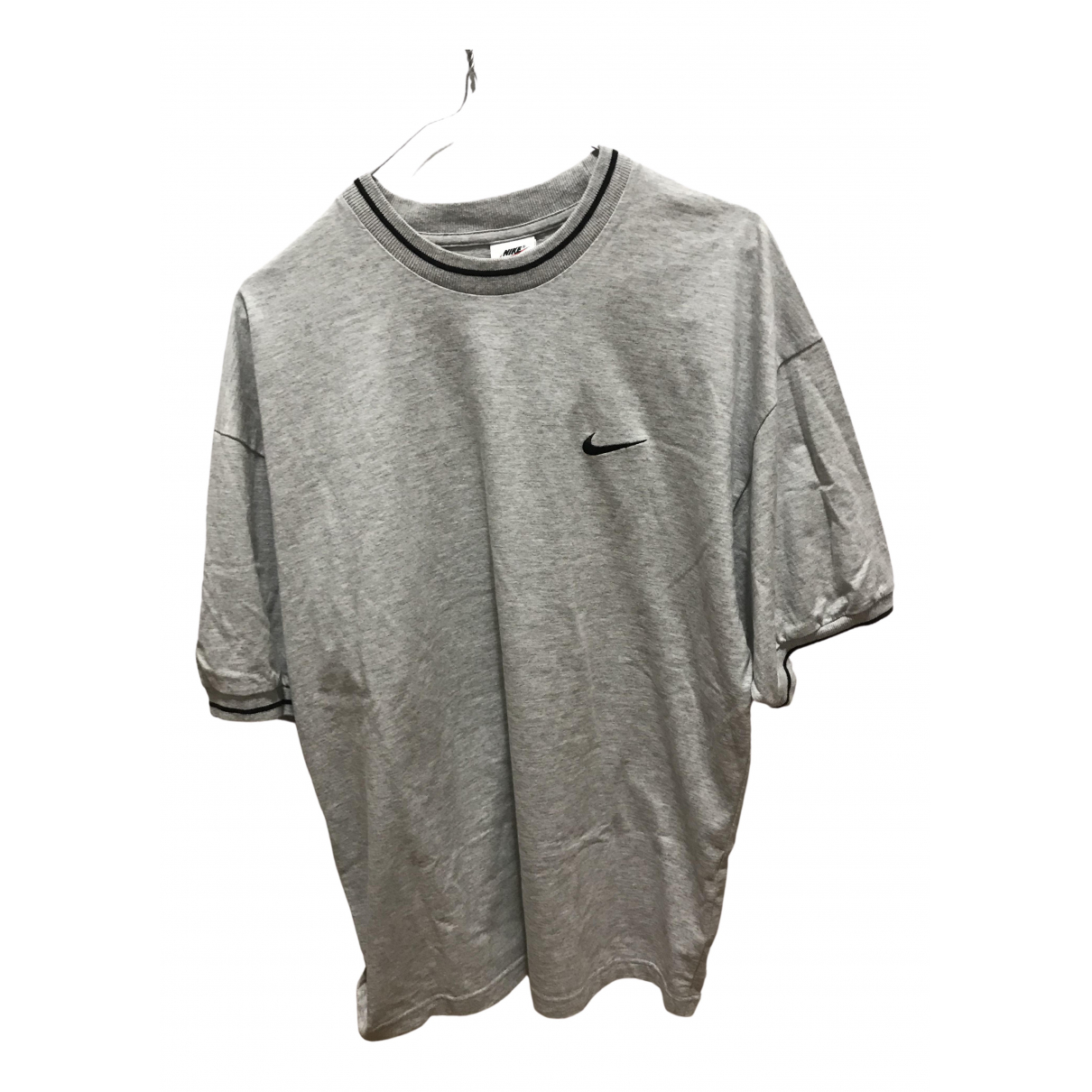 Nike \N T-Shirts in  Grau Baumwolle
