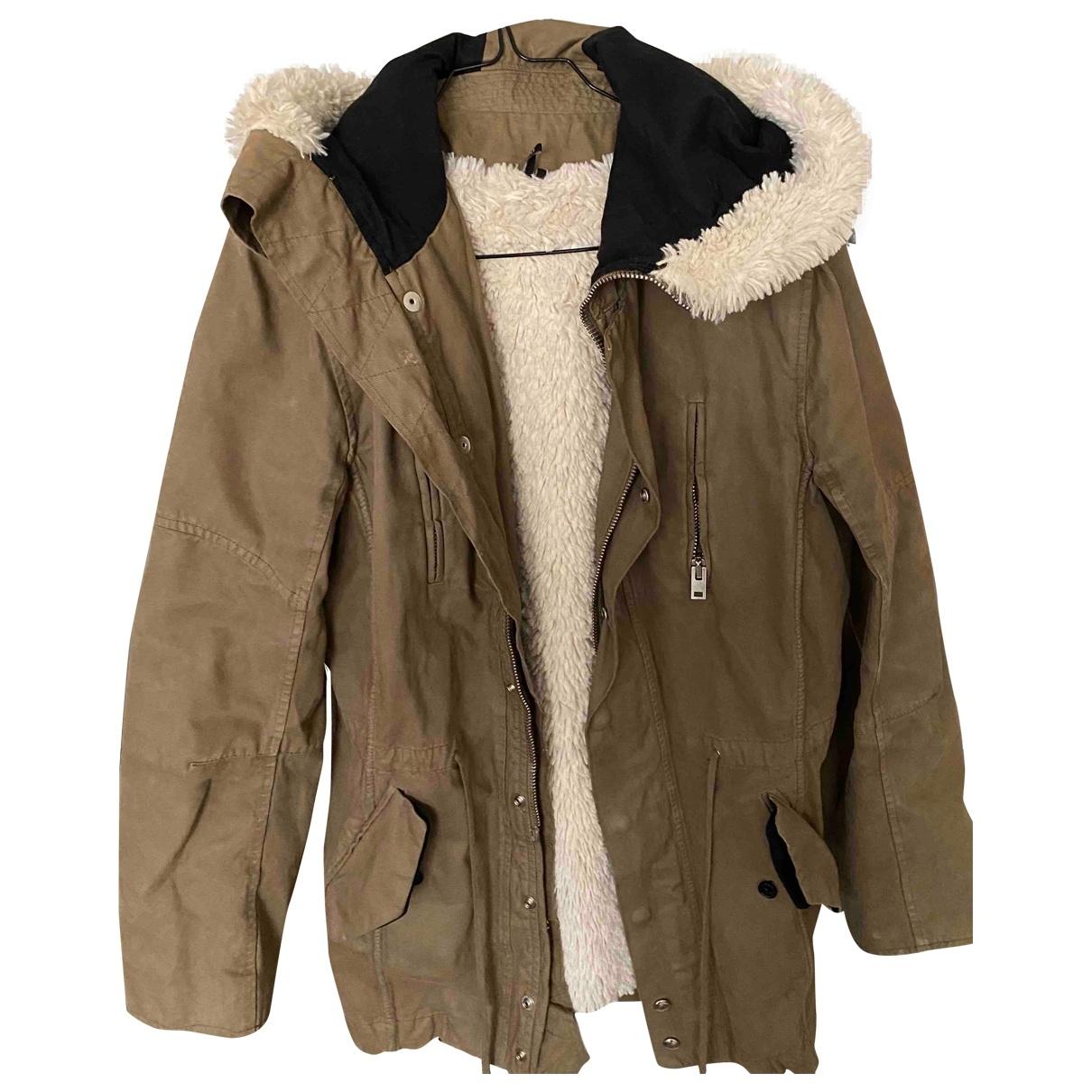Iro \N Khaki coat for Women 36 FR