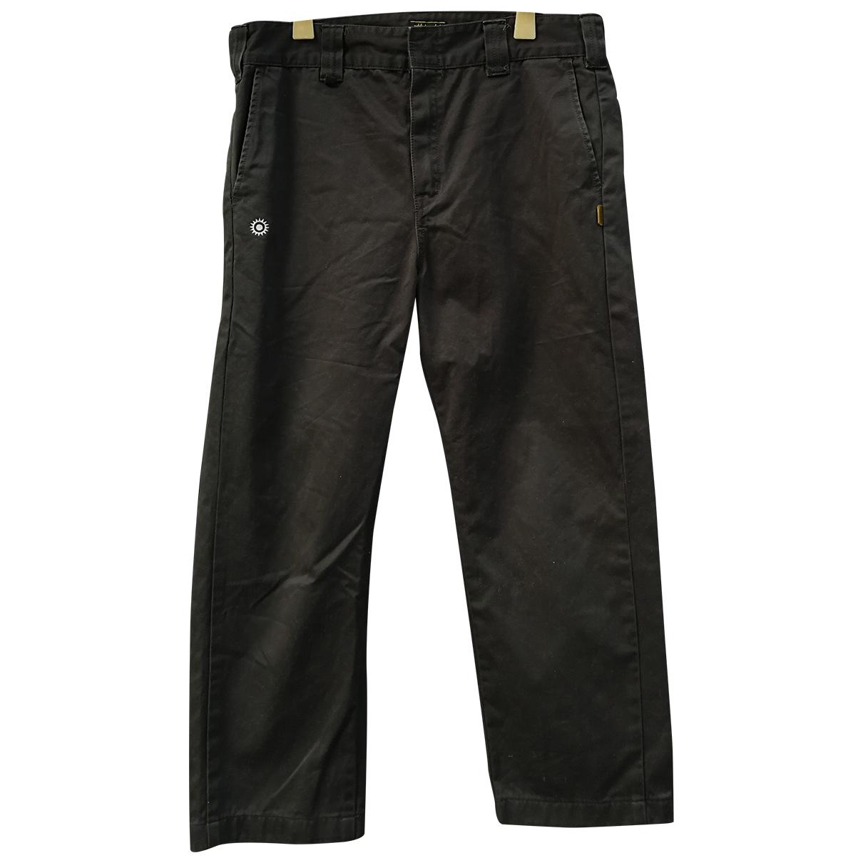 Pantalones en Algodon Marron Neighborhood