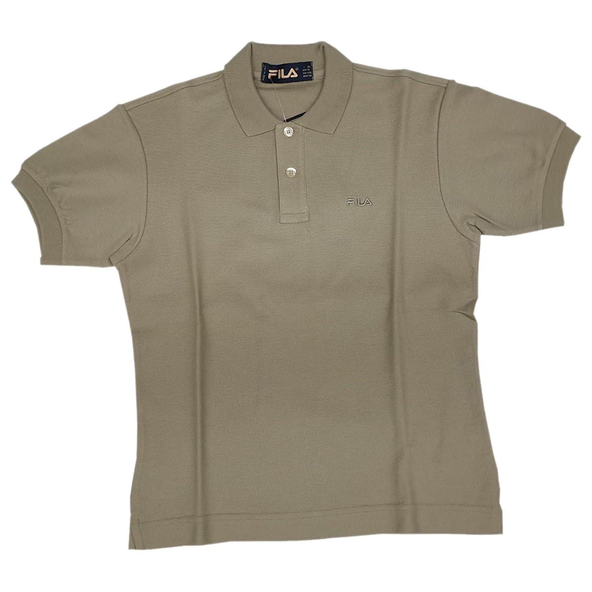 Fila \N Poloshirts in  Ecru Baumwolle