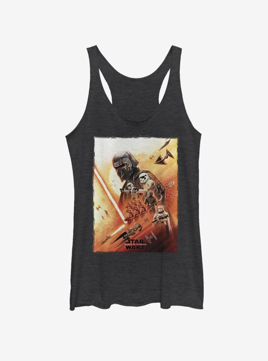 Star Wars Episode IX The Rise Of Skywalker Kylo Poster Womens Tank Top