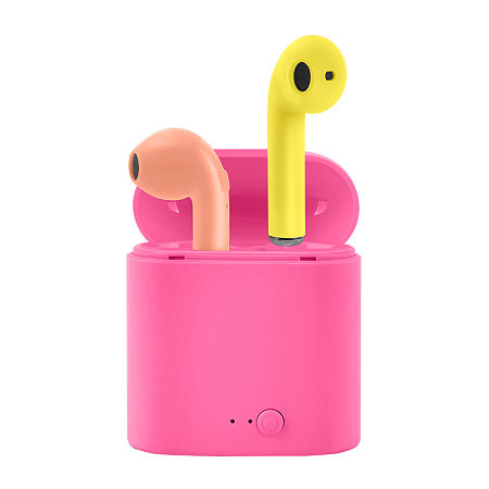 Wireless Earbuds With Case, One Size , Pink