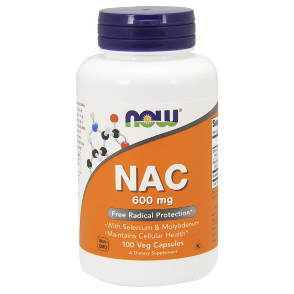 Nac-Acetyl Cysteine (NAC) 100 Caps by Now Foods