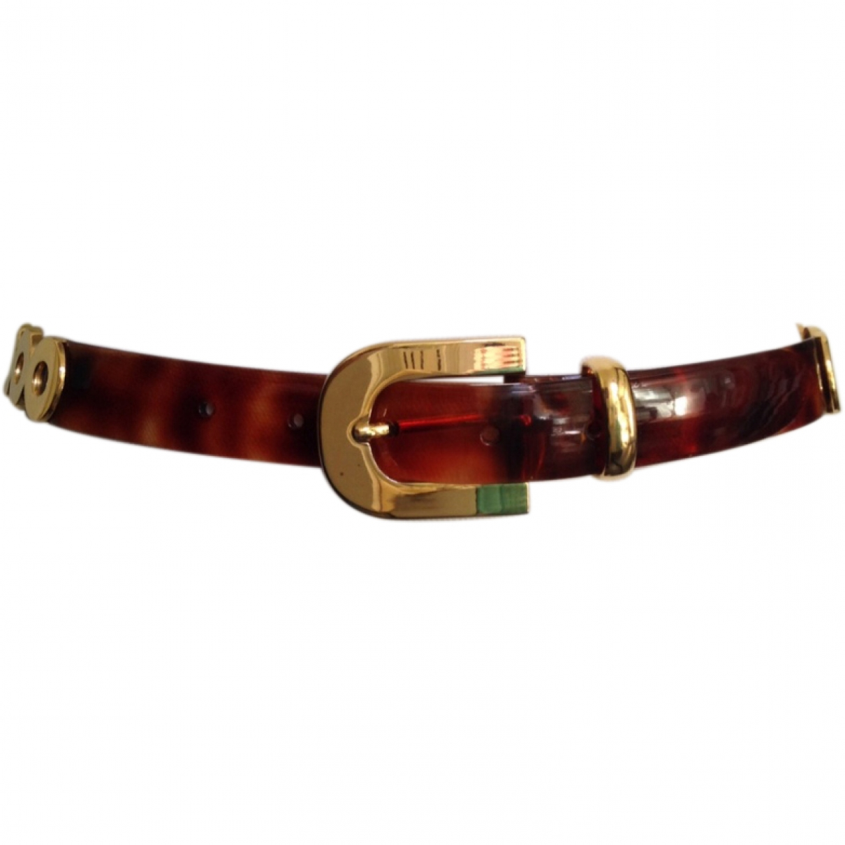 Non Signé / Unsigned \N Brown belt for Women 80 cm