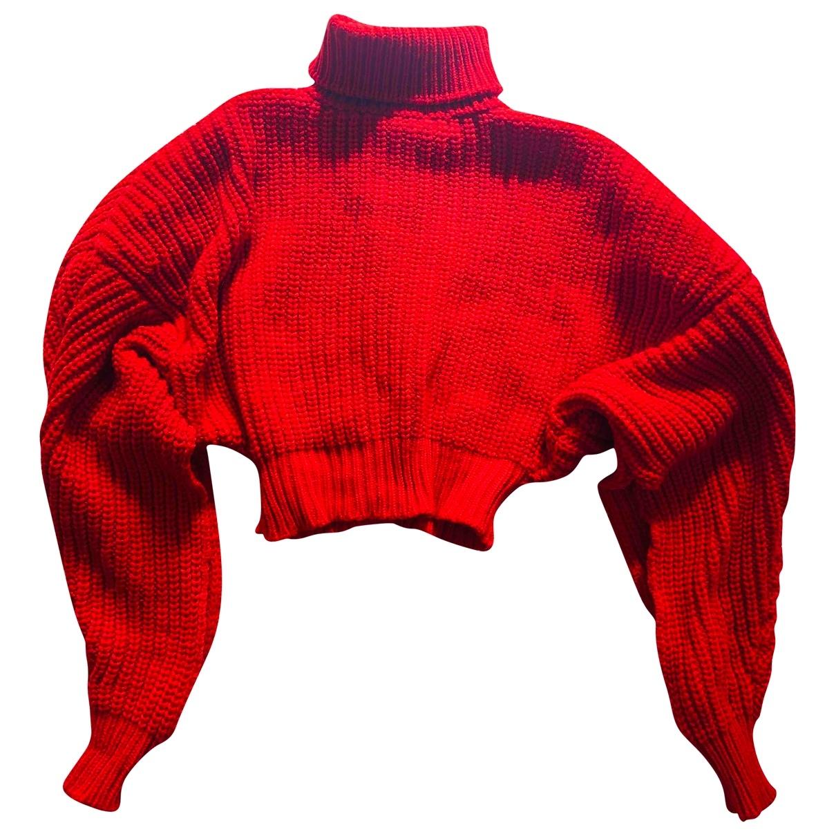 A.w.a.k.e. \N Red Wool Knitwear for Women L International