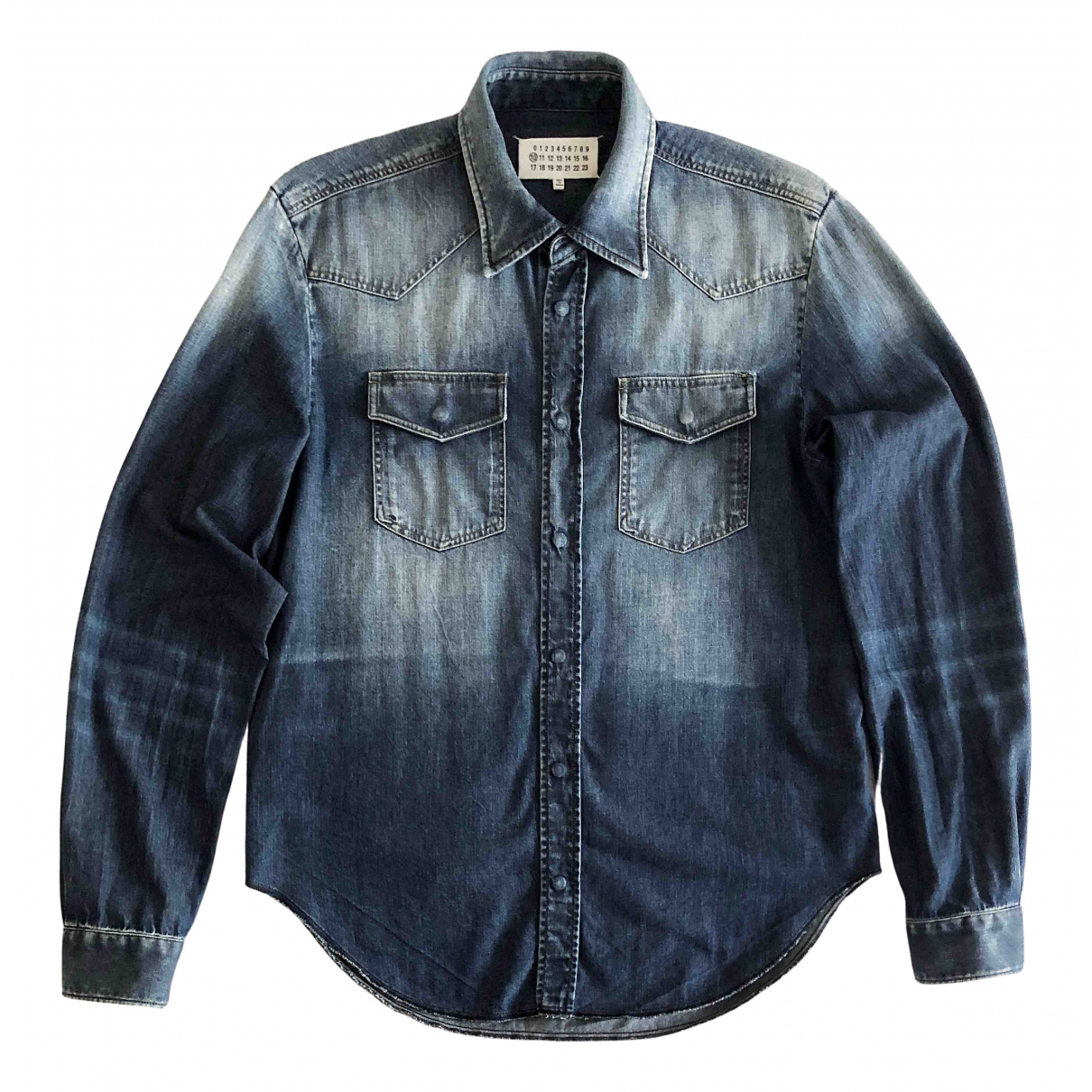 Maison Martin Margiela N Blue Denim - Jeans Shirts for Men M International