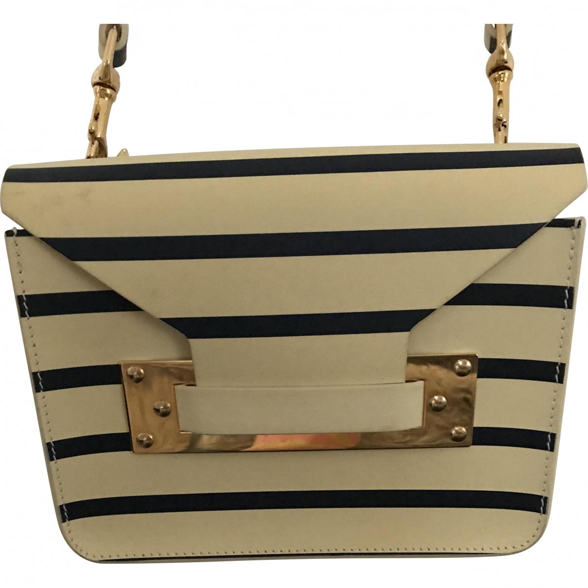 Sophie Hulme \N Leather handbag for Women \N