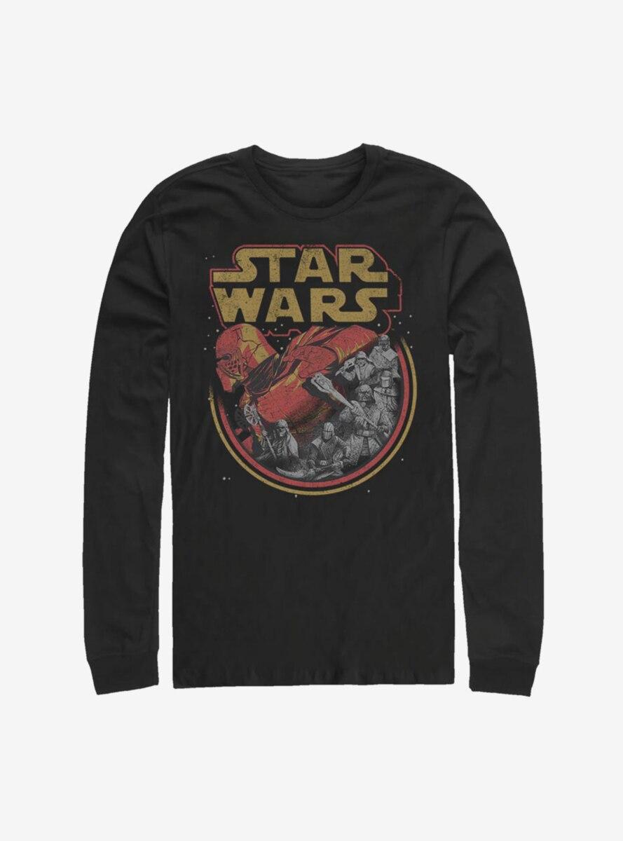 Star Wars Episode IX The Rise Of Skywalker Retro Villains Long-Sleeve T-Shirt