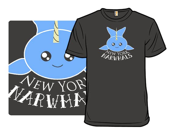 New York Narwhals T Shirt