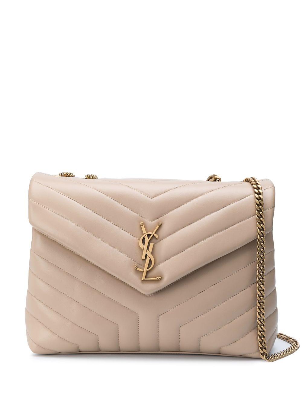 Loulou Leather Shoulder Bag